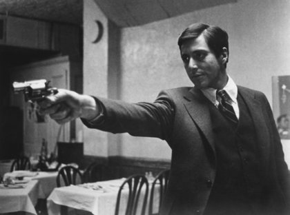 """""""The Godfather""""Al Pacino 1972 Paramount Pictures"""